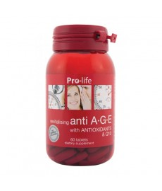 Anti A-G-E with ANTIOXIDANTS & Q10 60 Tablets