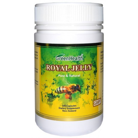 Royal Jelly Extract 1000mg x 180 Capsules