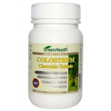 Colostrum 200 Chewable Tablets
