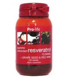 Resveratrol 60 Tablets