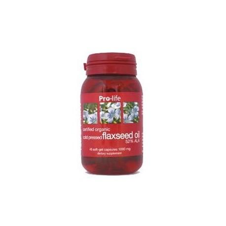 Organic Flaxseed Oil 100 Capsules